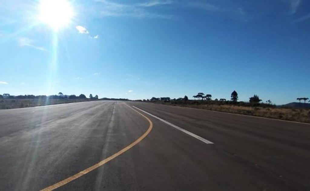 O tão esperado aeroporto Ismael Nunes, em São Joaquim, está prestes a ser terminado