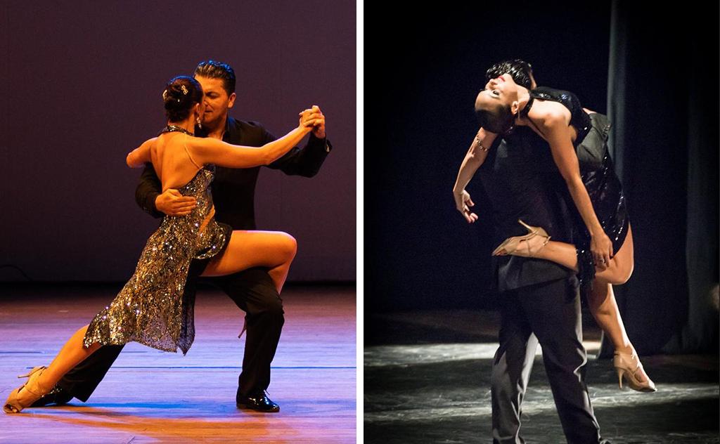 O evento reúne o melhor do tango cantado ao vivo com casais de bailarinos dançando