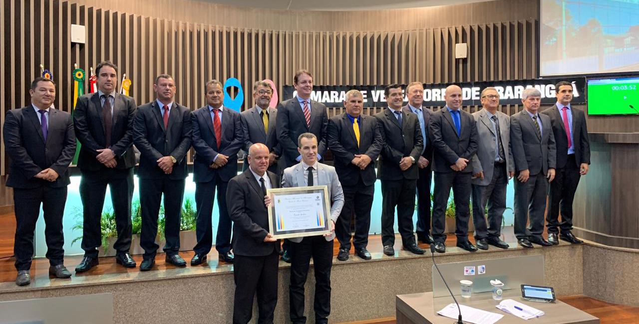 Presidente do Instituto Maria Schmitt foi prestigiado com CMVA lotada