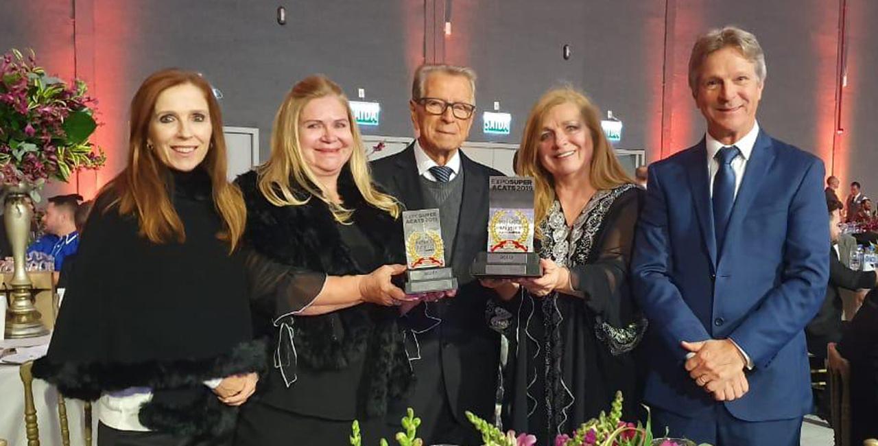 Rede recebeu troféu de Supermercado Mais Admirado do Estado e da Região Sul