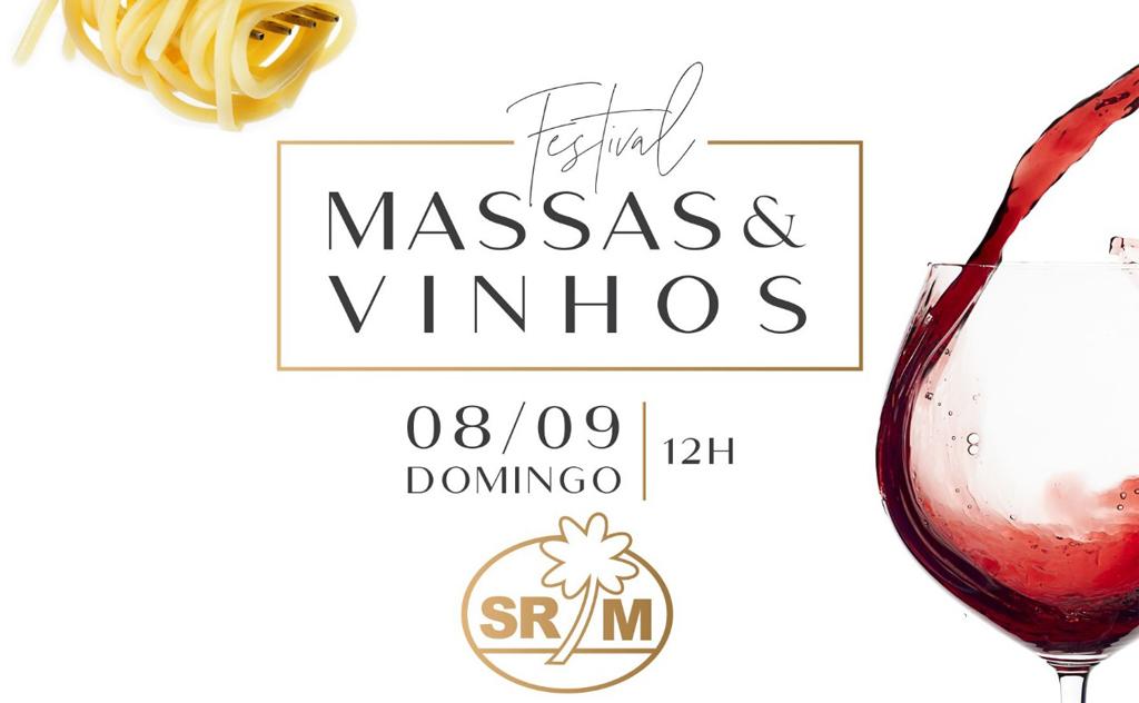 15ª edição do Festival de Massas e Vinhos no Clube Mampituba