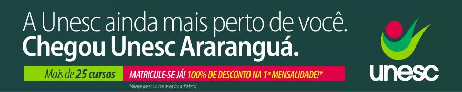Banner Unesc Araranguá