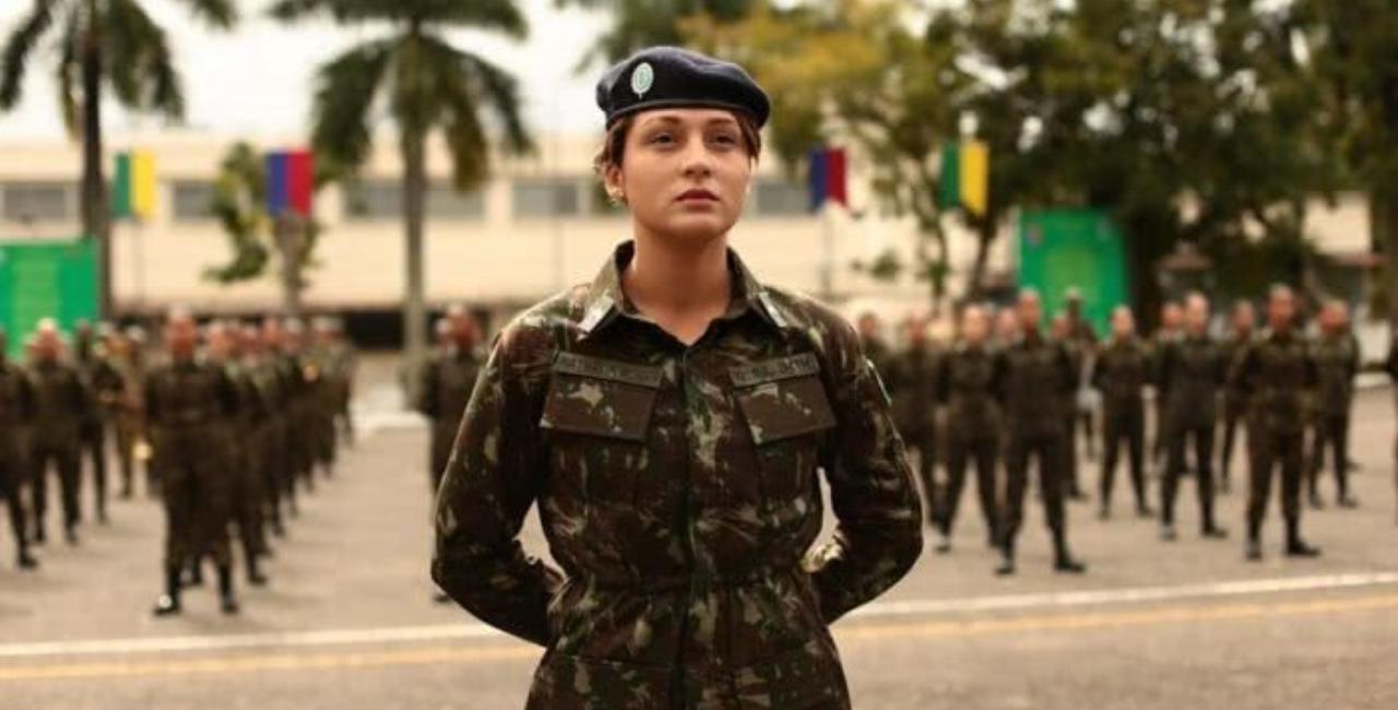 Em 190 anos de história a cidade carbonífera recebem a 3º Sgt Nathalia Roger