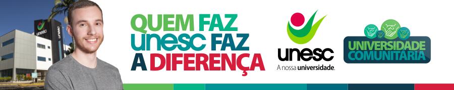 Banner Universidade Comunitária UNESC