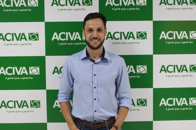 Empresário Alberto Sasso de Sá toma posse como Presidente da ACIVA para o biênico 2021-2022