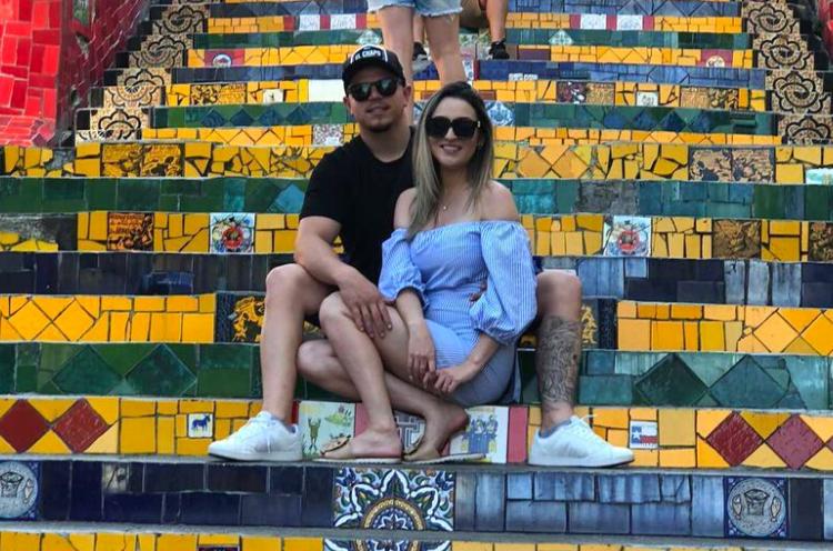 O casal tirou uns dias de férias para aproveitar as belezas cariocas