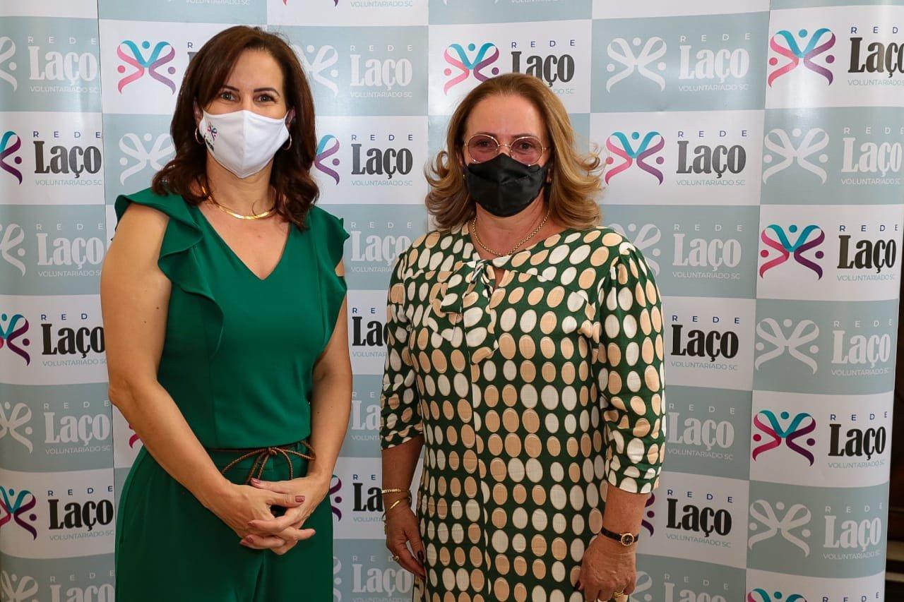 A convite da primeira-dama do Estado, Claudete Rocha Brambila esteve na Casa d'Agronômica, em Florianópolis